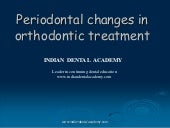 Periodontal changes in ortho treatm...