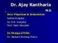 Periop management of dm ajay