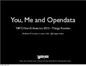 You, me and Opendata - v2