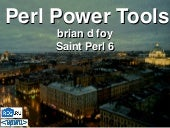 Perl Power Tools - Saint Perl 6