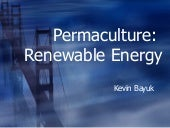 Permaculutre Renewable Energy