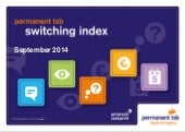 Permanent TSB Switching Index September 2014