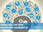 Tools for Persona-Driven Keyword Research