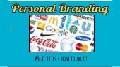 How to Take Charge of Your Personal Brand