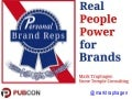 Power of Personal Branding for Brands - Pubcon 2015