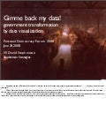 Gimme my data: government transformation