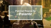 Personal Finance for Palantir (June 2015)