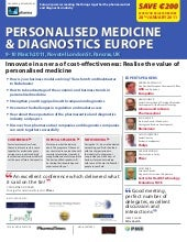 Personalised Medicine and Diagnosti...