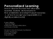 Personalized Learning: How to disco...