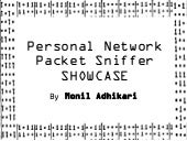 Personal Network Packet Sniffer