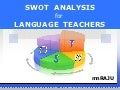 SWOT for Language Teachers