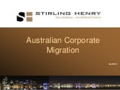 Perth Corporate Immigration Present...