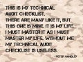 Quick Technical SEO Audit Checklist - Peter Handley Brighton SEO April 2014