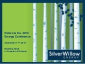 SilverWillow Energy video