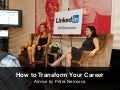 How to Transform Your Career by Petra Nemcova