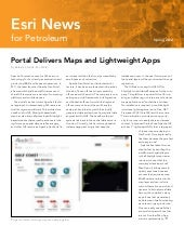 Esri News for Petroleum—Spring 2012