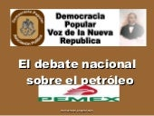 Petroleo Tijuana Abril