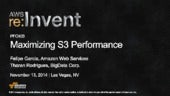 (PFC403) Maximizing Amazon S3 Performance | AWS re:Invent 2014