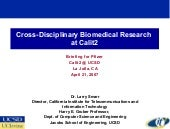 Cross-Disciplinary Biomedical Resea...