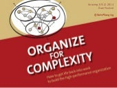 How to Organize for Complexity