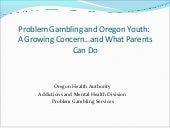 Problem Gambling  - For Parents of High Risk Youth