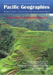 Journal PACIFIC GEOGRAPHIES Issue#40