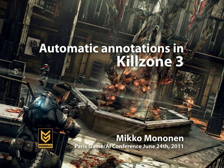 Automatic Annotations in Killzone 3 and Beyond