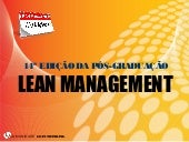 PG LEAN MANAGEMENT 14 EDICAO