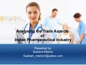 Pharmaceutical industry India