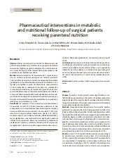 Pharmaceutical interventions in met...
