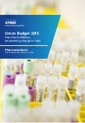 Impact of Budget 2015 on Pharmaceuticals sector