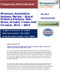 Pharmacy Automation Systems Market - Global Industry Analysis, Size, Share, Growth, Trends And Forecast, 2012 - 2018