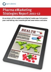 Pharma eMarketing Strategies report...