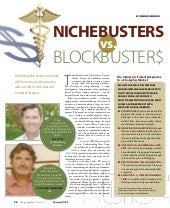 Pharma Voice   Niche Busters   Sept...