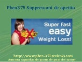 PHEN375 SUPPRESSANT DE APETITO