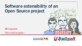 Software extensibility of an open source project. OW2con'15, November 17, Paris.