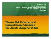 Philippines - climate change act 20...