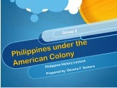 Philippinesamerican colony
