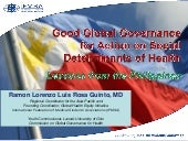 Good Global Governance for Action o...