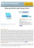 Philips go lite blu light therapy device