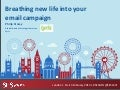 Breathing New Life Into Your Email Marketing Campaign: SES London / Click Z