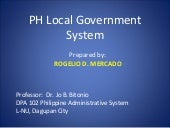 Ph Local Government System