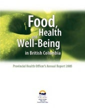 Food Health and Well Being in Briti...