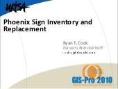 Phoenix Sign Inventory and Replacement