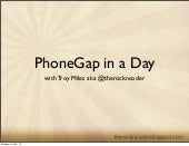 PhoneGap in a Day