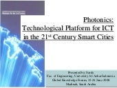 Photonics Technological Platform Fo...