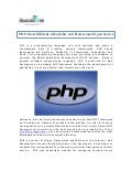 PHP-Most Efficient, Affordable and Professional Open Source Frameworks