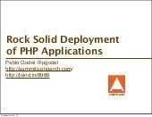 php[architect] Summit Series DevOps...