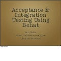 Acceptance & Integration Testing With Behat (PBC11)