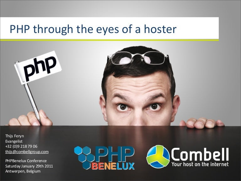 PHP through the eyes of a hoster